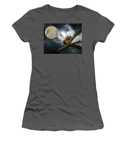 Women's T-Shirt (Junior Cut) featuring the photograph The Seer Of Souls by Heather King