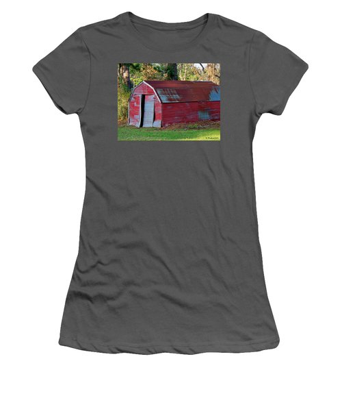 The Shed Women's T-Shirt (Athletic Fit)