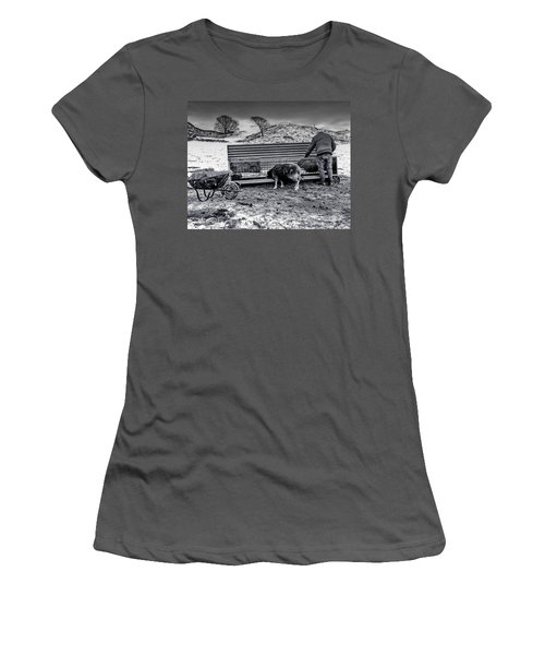 The Shepherd Women's T-Shirt (Athletic Fit)