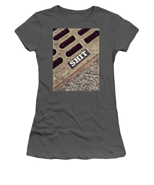 The Shit You See In New York City Women's T-Shirt (Athletic Fit)
