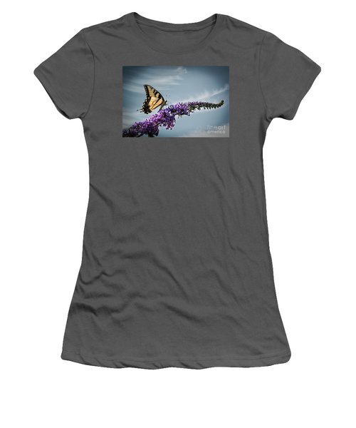 The Sky Is The Limit Women's T-Shirt (Junior Cut) by Judy Wolinsky