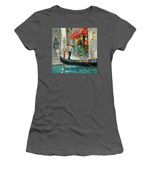 The Sounds Of A Barcarolle Women's T-Shirt (Athletic Fit)