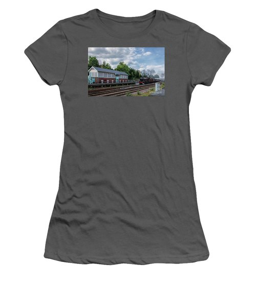 The Spa Express Departing Scarborough Women's T-Shirt (Athletic Fit)