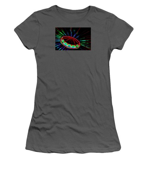 The Spaceship Women's T-Shirt (Athletic Fit)