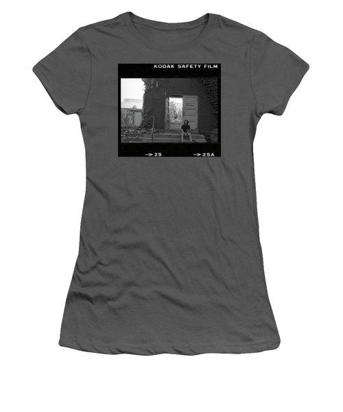 The Speech Annex And Peter Steven, Full Frame, 1980 Women's T-Shirt (Athletic Fit)