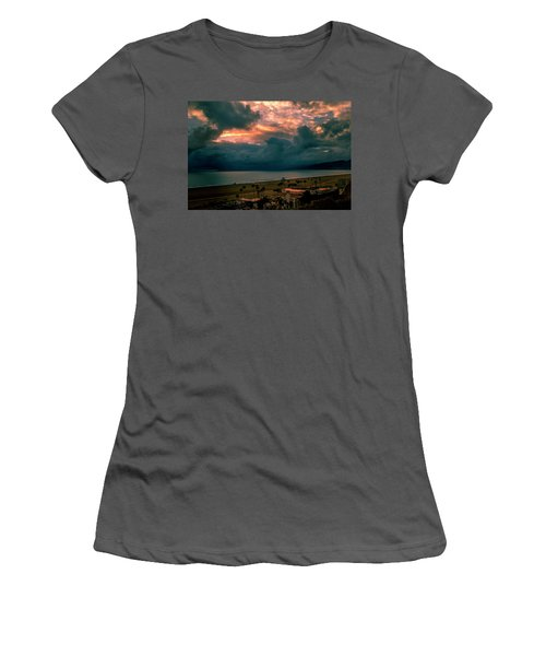 The Storm Moves On Women's T-Shirt (Athletic Fit)