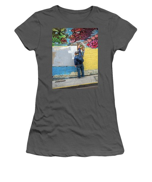 The Tigers Eye Women's T-Shirt (Athletic Fit)