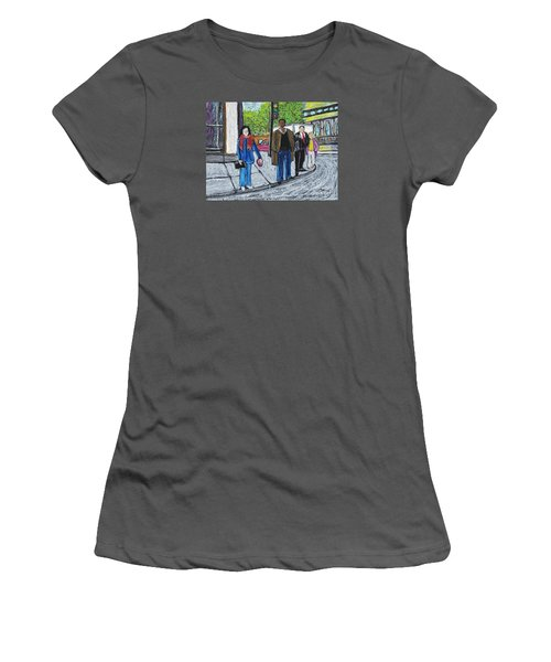 The Tourist Women's T-Shirt (Junior Cut) by Reb Frost