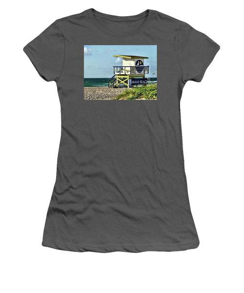 The Tower Women's T-Shirt (Athletic Fit)