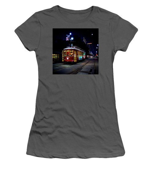 Women's T-Shirt (Junior Cut) featuring the photograph The Trolley by Evgeny Vasenev