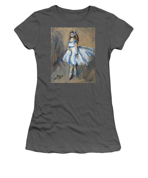 The Truth Lies Between Aguste Renoir And Marlene Dumas Women's T-Shirt (Junior Cut)