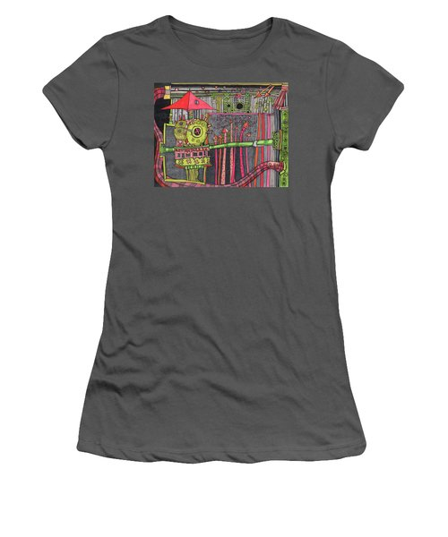The Umbrella Roof Women's T-Shirt (Athletic Fit)