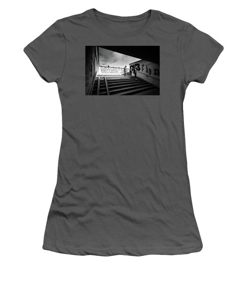 The Underpass Women's T-Shirt (Junior Cut) by John Williams