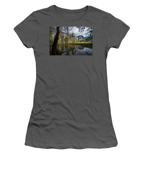 The Valley Floor Women's T-Shirt (Athletic Fit)