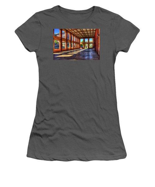 The Venue Old Mill Wedding Venue Reedy River South Caroline Art Women's T-Shirt (Junior Cut) by Reid Callaway