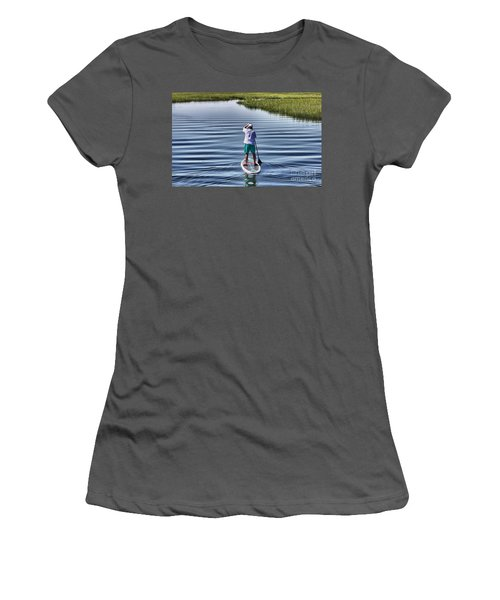The View From A Bridge Women's T-Shirt (Athletic Fit)