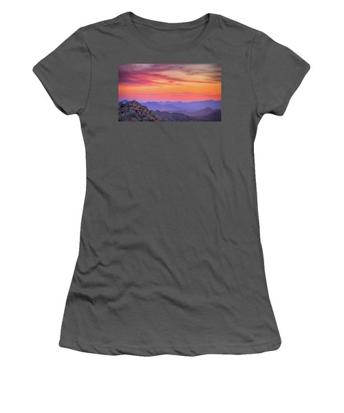 Women's T-Shirt (Junior Cut) featuring the photograph The View From Above by Anthony Citro