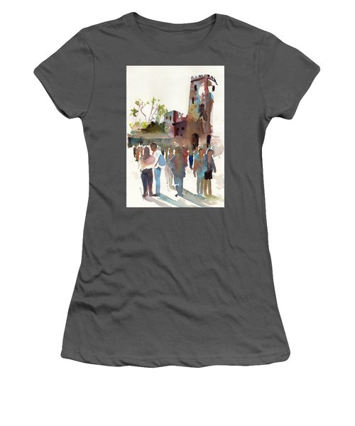 The Visitors Women's T-Shirt (Junior Cut) by P Anthony Visco