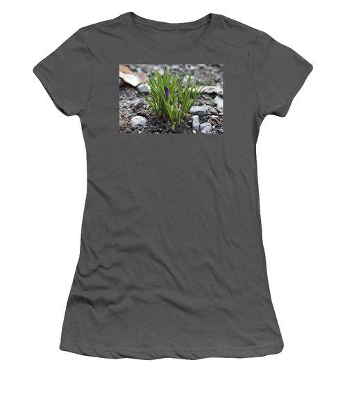 Women's T-Shirt (Junior Cut) featuring the photograph The Wait by Jeff Severson