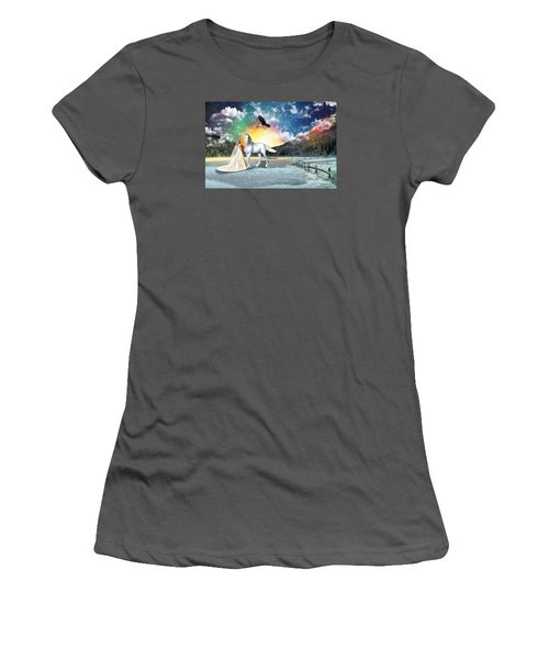 The Waiting Bride Women's T-Shirt (Athletic Fit)