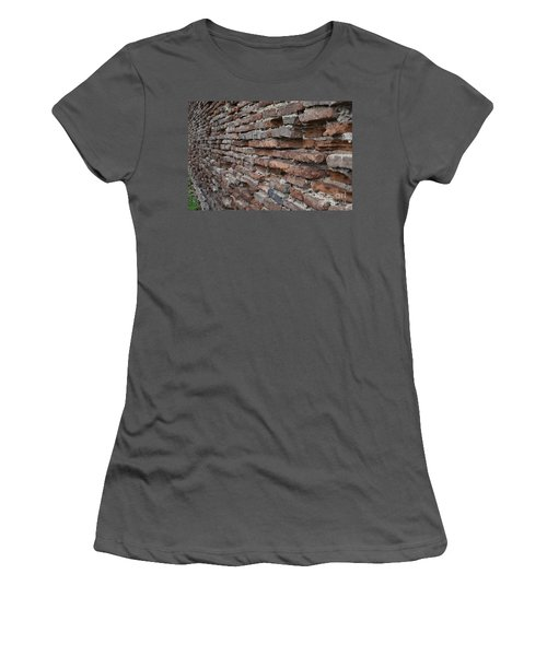 The Wall Women's T-Shirt (Junior Cut) by Cendrine Marrouat