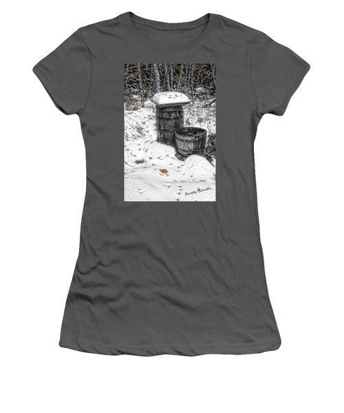 The Water Barrel Women's T-Shirt (Athletic Fit)