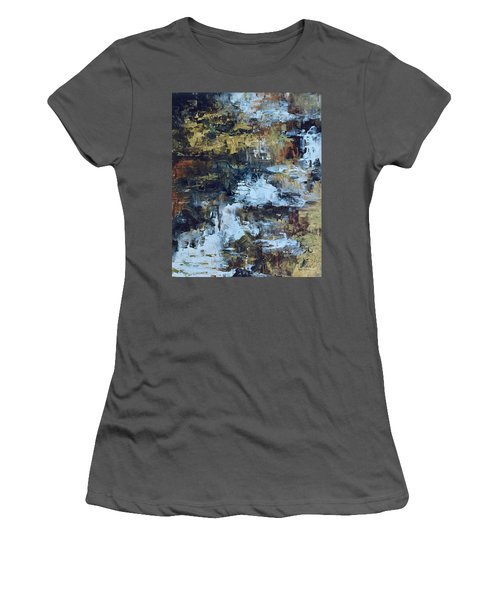 The Waterfall Women's T-Shirt (Athletic Fit)