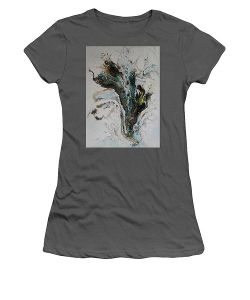 The Wave Women's T-Shirt (Athletic Fit)