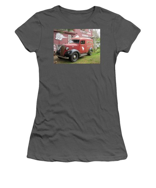 The White Elephant Women's T-Shirt (Junior Cut) by Paul Meinerth