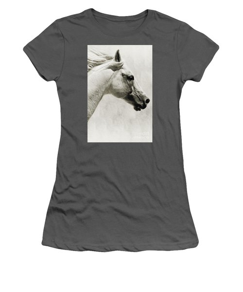 The White Horse IIi - Art Print Women's T-Shirt (Athletic Fit)