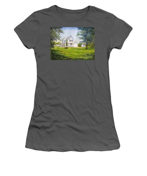 The Whitehouse Women's T-Shirt (Athletic Fit)