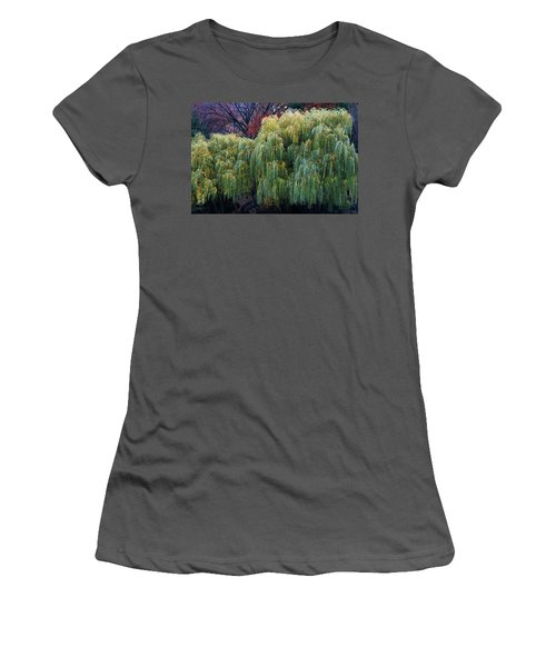 The Willows Of Central Park Women's T-Shirt (Athletic Fit)