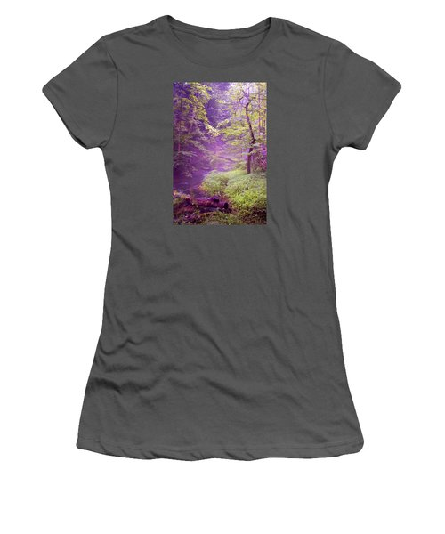 The Wonder Of Nature  Two Women's T-Shirt (Junior Cut) by John Stuart Webbstock