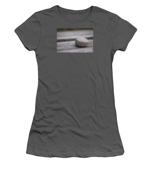 Simplicity In Grey Women's T-Shirt (Junior Cut) by Jill Smith