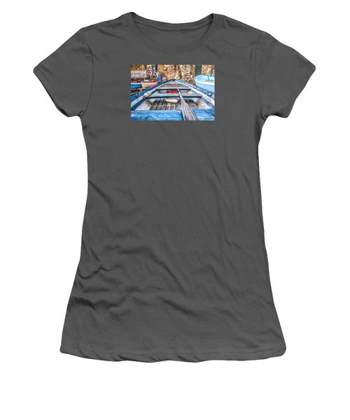 Women's T-Shirt (Junior Cut) featuring the photograph This Old Boat by Brent Durken