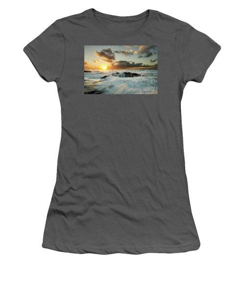 Thors Well Cape Perpetua 1 Women's T-Shirt (Junior Cut) by Bob Christopher
