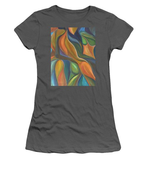 Three Dancers Smooth Women's T-Shirt (Athletic Fit)