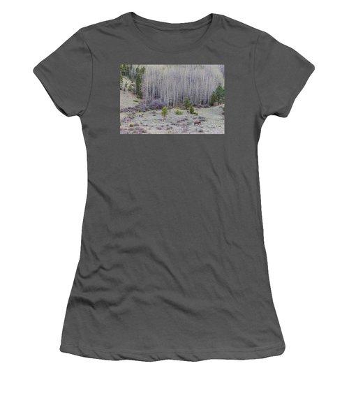 Three Horses Women's T-Shirt (Junior Cut) by James BO Insogna