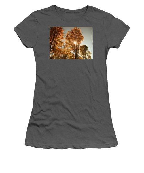 Through Sun Glasses Women's T-Shirt (Athletic Fit)