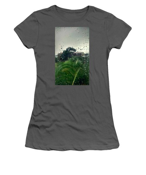 Women's T-Shirt (Junior Cut) featuring the photograph Through The Looking Glass by Persephone Artworks