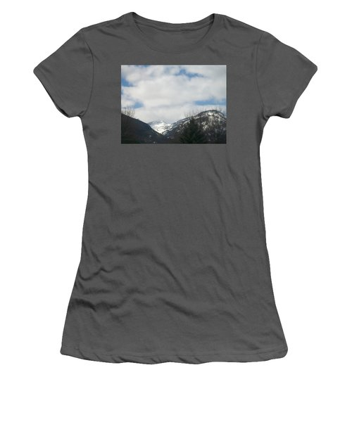 Through The Pass Women's T-Shirt (Athletic Fit)