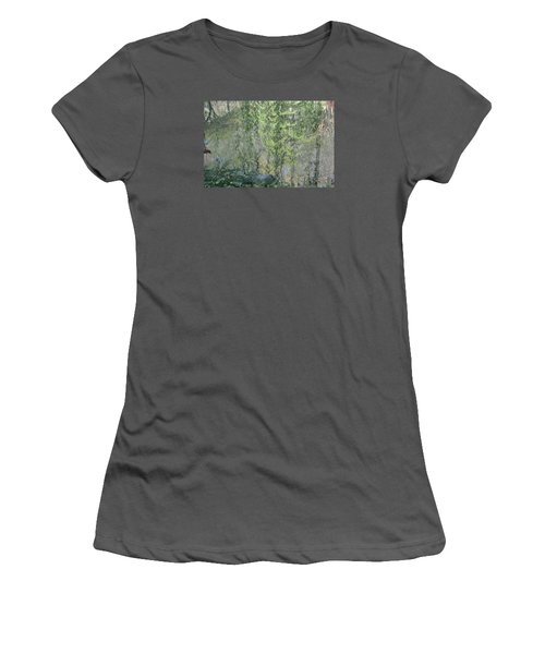 Through The Willows Women's T-Shirt (Junior Cut) by Linda Geiger