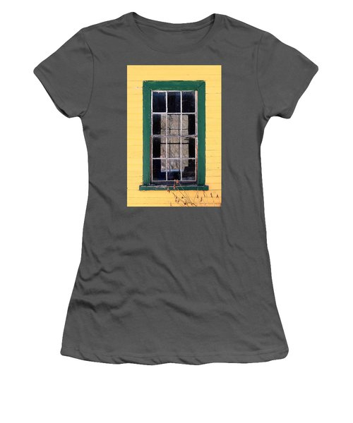 Through The Windows Women's T-Shirt (Athletic Fit)