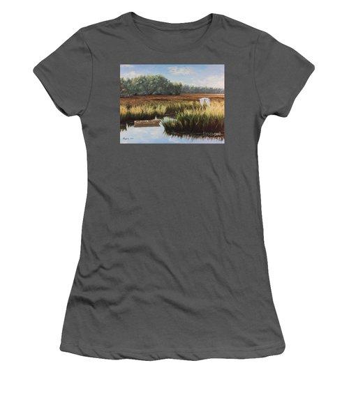 Tidal Creek Women's T-Shirt (Athletic Fit)