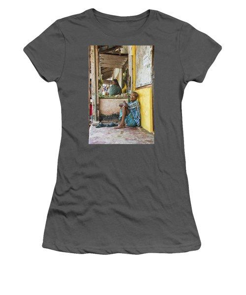 Kumarakom Women's T-Shirt (Junior Cut) by Marion Galt