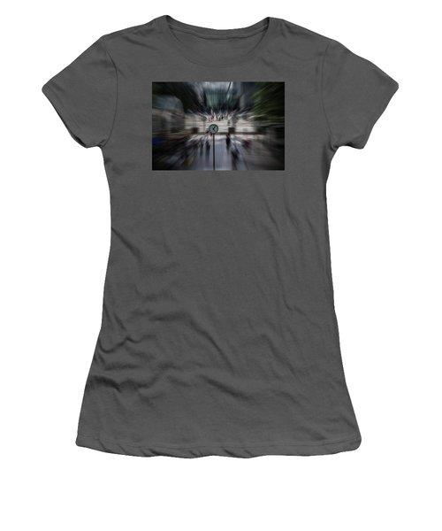 Time Traveller Women's T-Shirt (Junior Cut) by Martin Newman