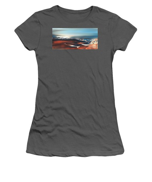 Silent Host Women's T-Shirt (Athletic Fit)