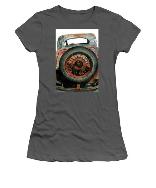 Tired Women's T-Shirt (Athletic Fit)