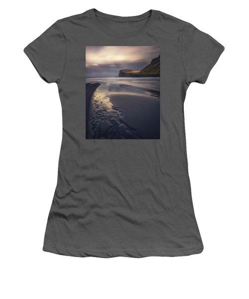 Tjornuvik Beach Women's T-Shirt (Athletic Fit)