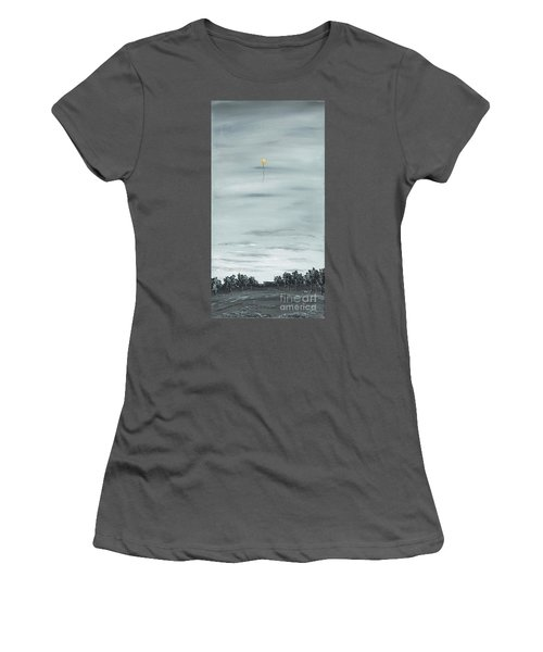 Women's T-Shirt (Junior Cut) featuring the painting To The Stars by Kenneth Clarke